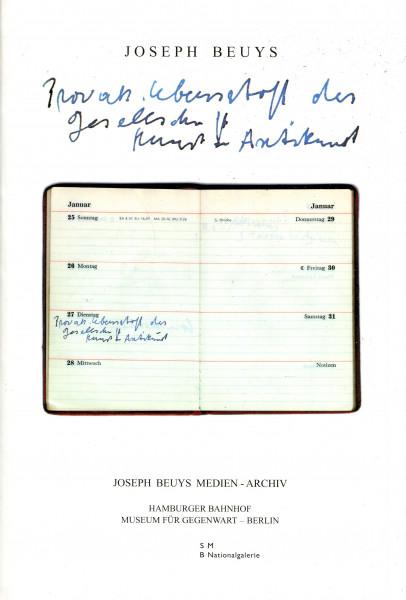 Joseph Beuys: Provokation - Lebensstoff der Gesellschaft - Kunst & Antikunst