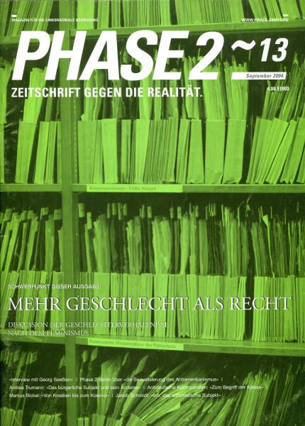Phase2-13 - Mehr Geschlecht als Recht