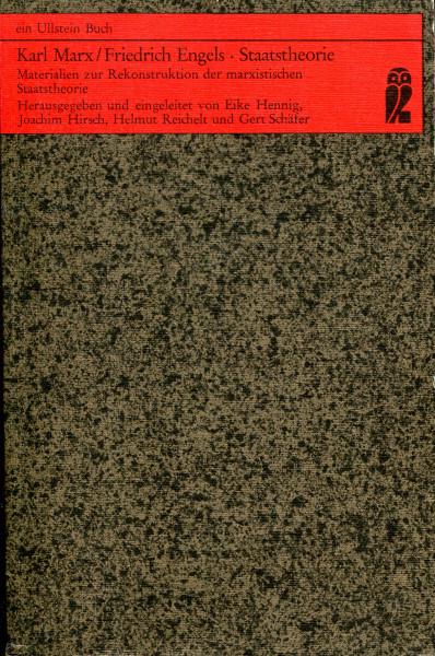 Karl Marx/Friedrich Engels: Staatstheorie