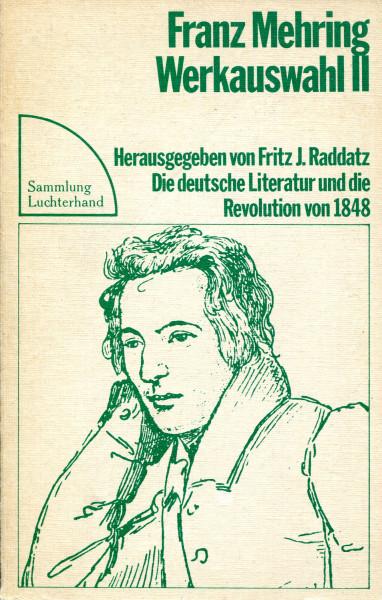 Franz Mehring: Werkauswahl II