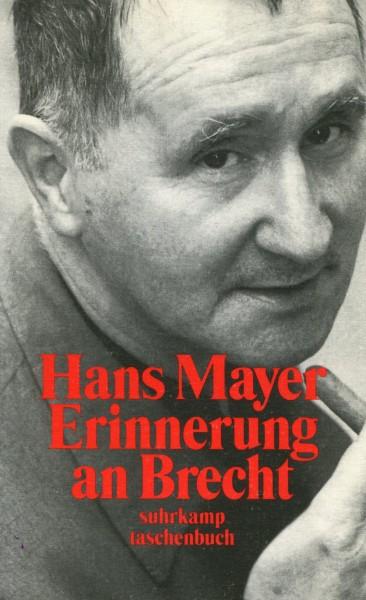 Hans Mayer: Erinnerung an Brecht