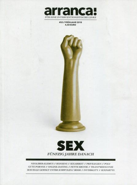 arranca! #52 - SEX - Fünfzig Jahre danach