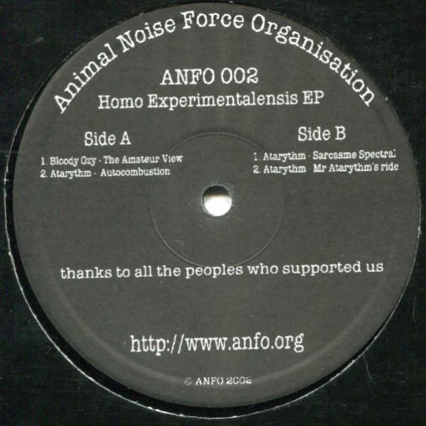 V/A: Anfo 002: Homo Experimentalis EP