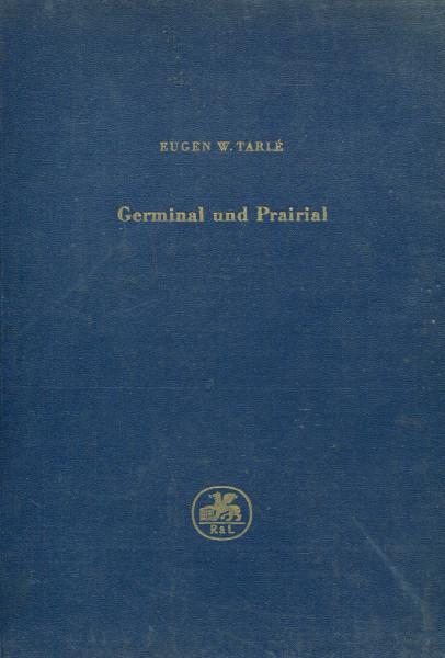 Eugen W. Tarlé: Germinal und Prairial