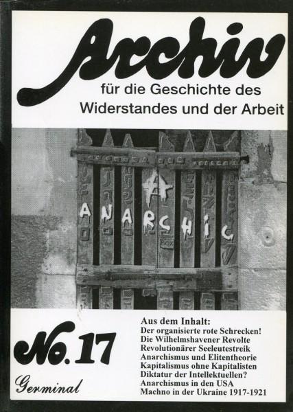 Archiv für die Geschichte des Widerstandes und der Arbeit No.17