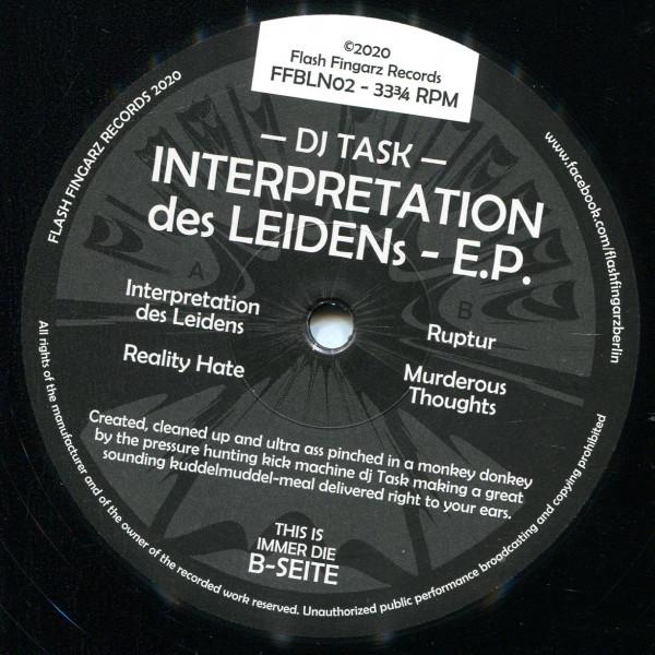 DJ Task: Interpretation des Leidens E.P.