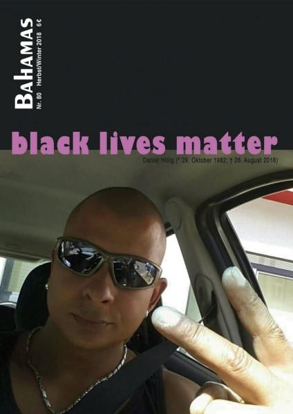 Bahamas 80 - black lives matter