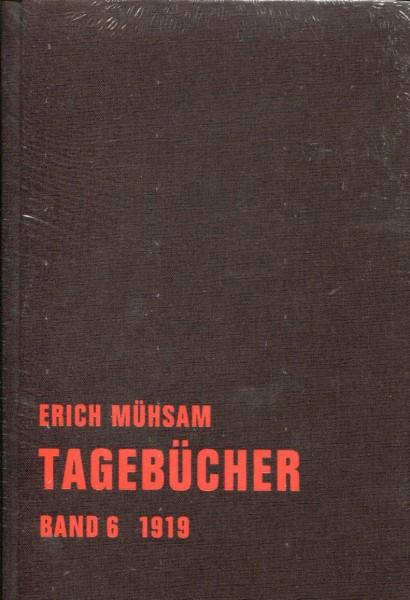 Erich Mühsam: Tagebücher Band 6, 1919
