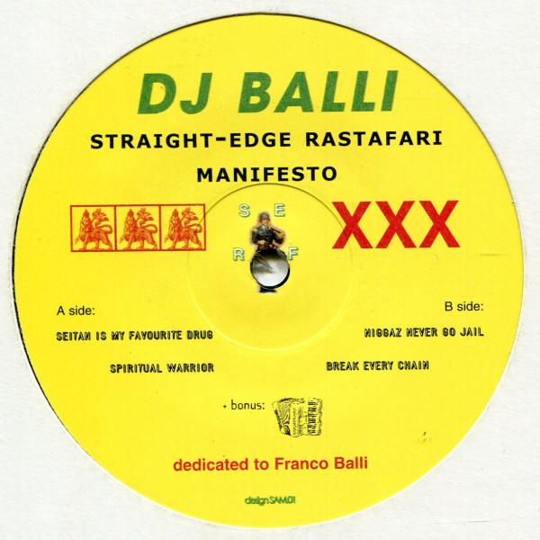 DJ Balli: Straight-Edge Rastafari Manifesto