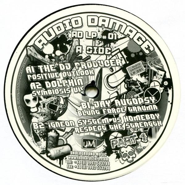 V/A: The Audio Damage All Stars LP