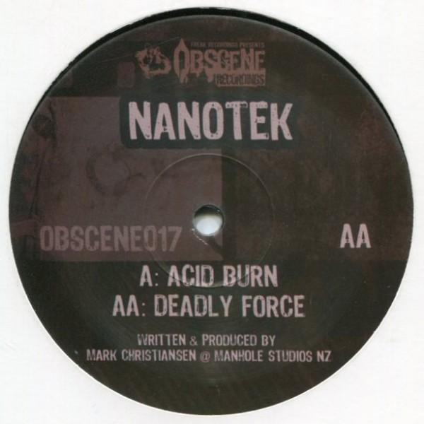 Nanotek: Acid Burn/Deadly Force