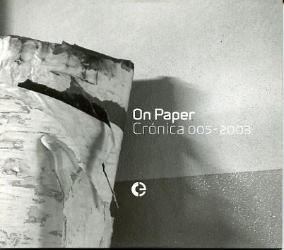 V/A: On Paper - Cronica 005-2003