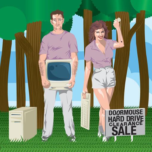Doormouse: Hard Drive Clearance Sale