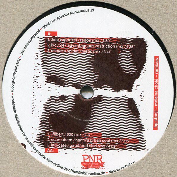 HP.Stonji: Mélaina Cholé Remixes