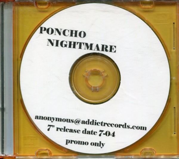 "Poncho Nightmare: Promo CD for Addict 20 7"""