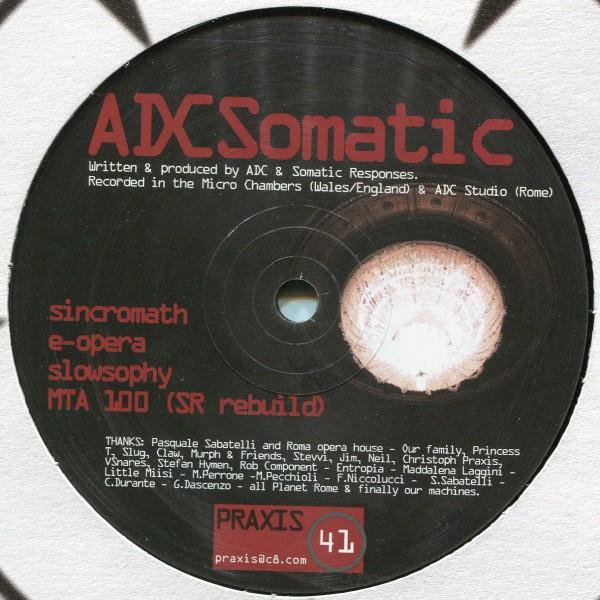 ADCSomatic: Teatrodellopera EP