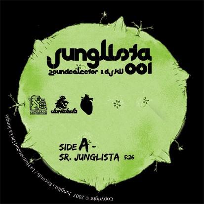 ZoundColector & DJ Kü: Sr. Junglista/Nyahbingi Man (Jungle Remix