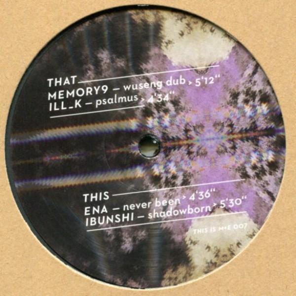 Memory9, ILL_K, ENA, Ibunshi: Sonic Carpaccio EP