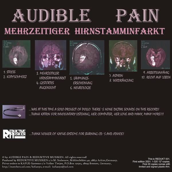 Audible Pain: Mehrzeitiger Hirnstamminfarkt