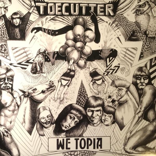 "Toecutter: We Topia 2x12""+7"""