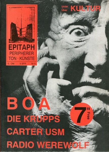 Epitaph peripherer Ton*Künste Nr.5