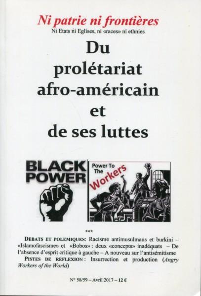 Ni patrie ni frontières No 58/59 - Du prolétariat afro-américain et de ses luttes