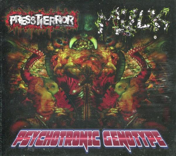 Pressterror/Mulk: Psychotronic Genotype CD