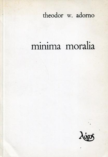 Theodor W. Adorno: Minimal Moralia (bosanski)
