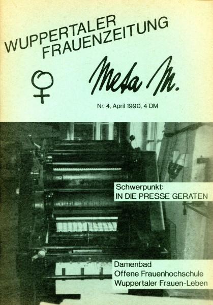 Wuppertaler Frauenzeitung Jg.1, Ausg. 2, Sept. 1989