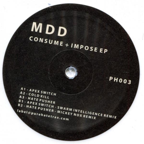 MDD: consume + impose