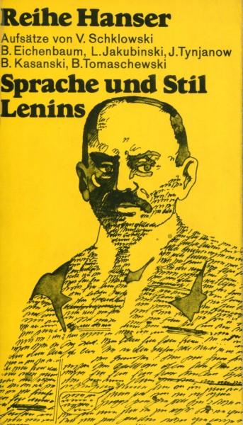 Fritz Mierau (Hg.): Sprache und Stil Lenins