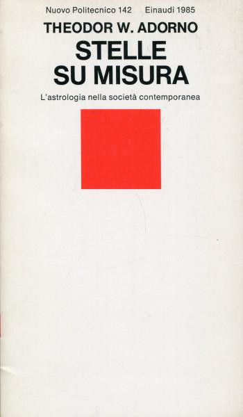 Theodor W. Adorno: Stelle su misura